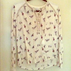 Small Lucky Brand boho chic top